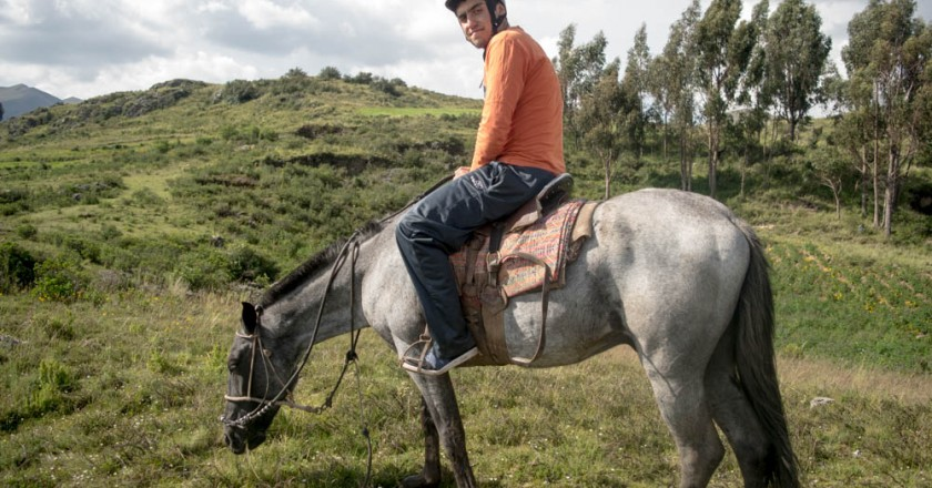 A day in horse back riding (Brayan Coraza Morveli)