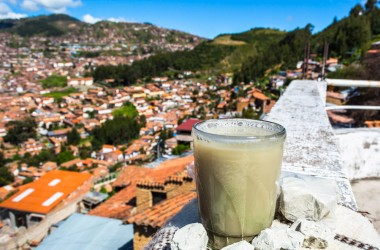 A Glass of Clay Above Cusco (Hebert Edgardo Huamani Jara)