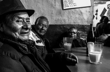 Cusqueñan People Enjoying their Ancestral Drink (Arnold Fernandez Coraza)
