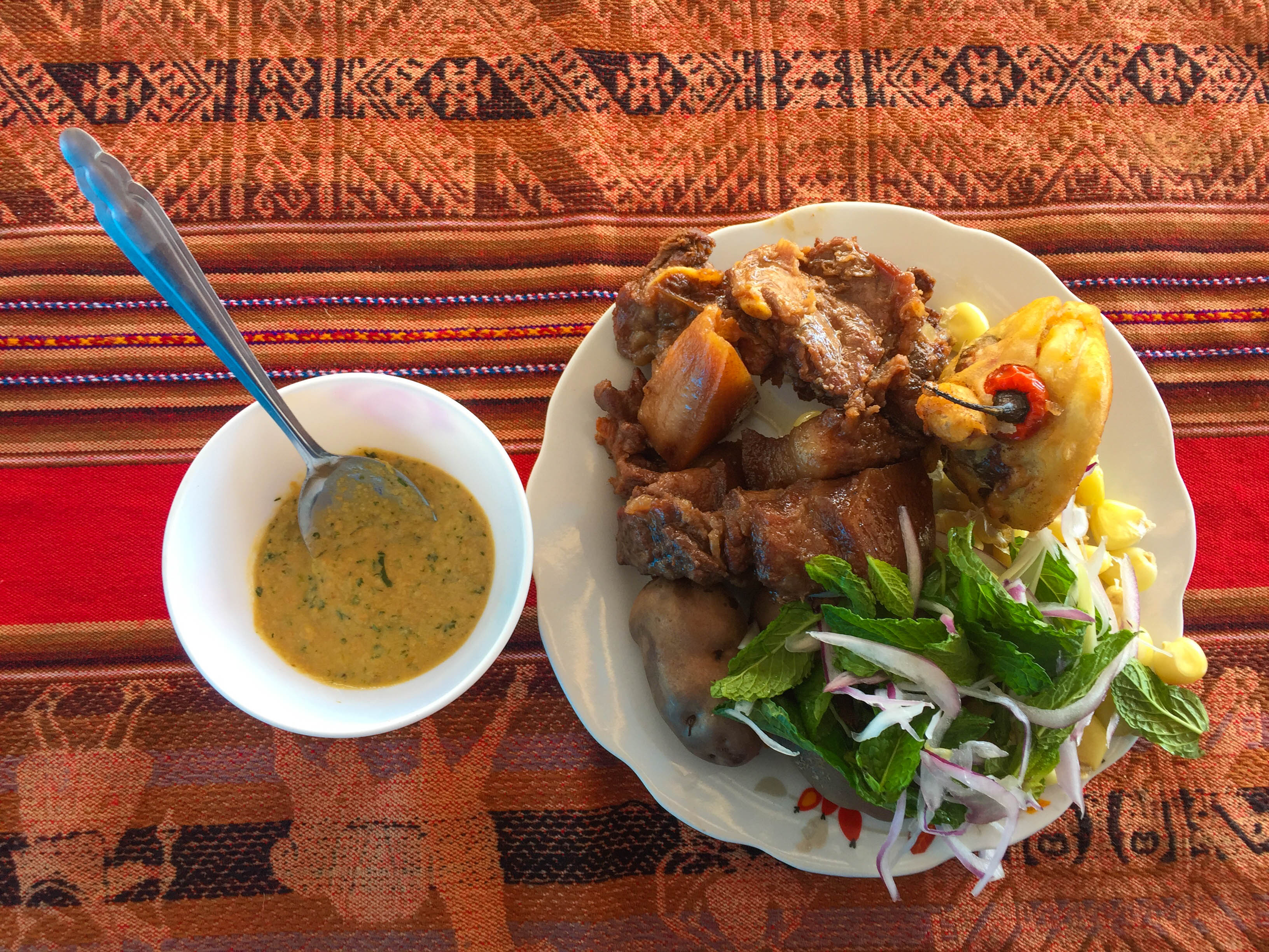 Mancachicharro, a tradicional dish from Chinchero, Sacred Valley (Photo: Walter Coraza Morveli)