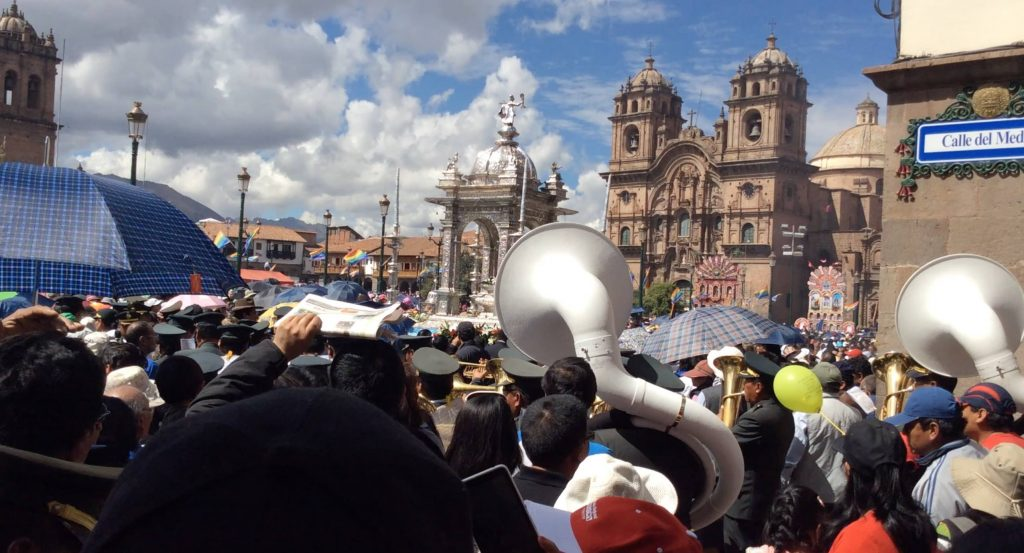 Corpus Christi in Cusco (David Knowlton)