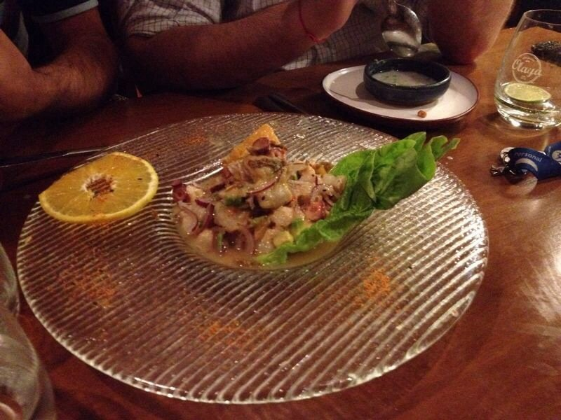 Ceviche in Argentina