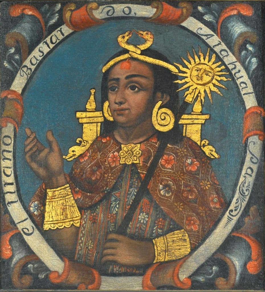 Atahualpa, Last Inca, from the Brooklyn Museum