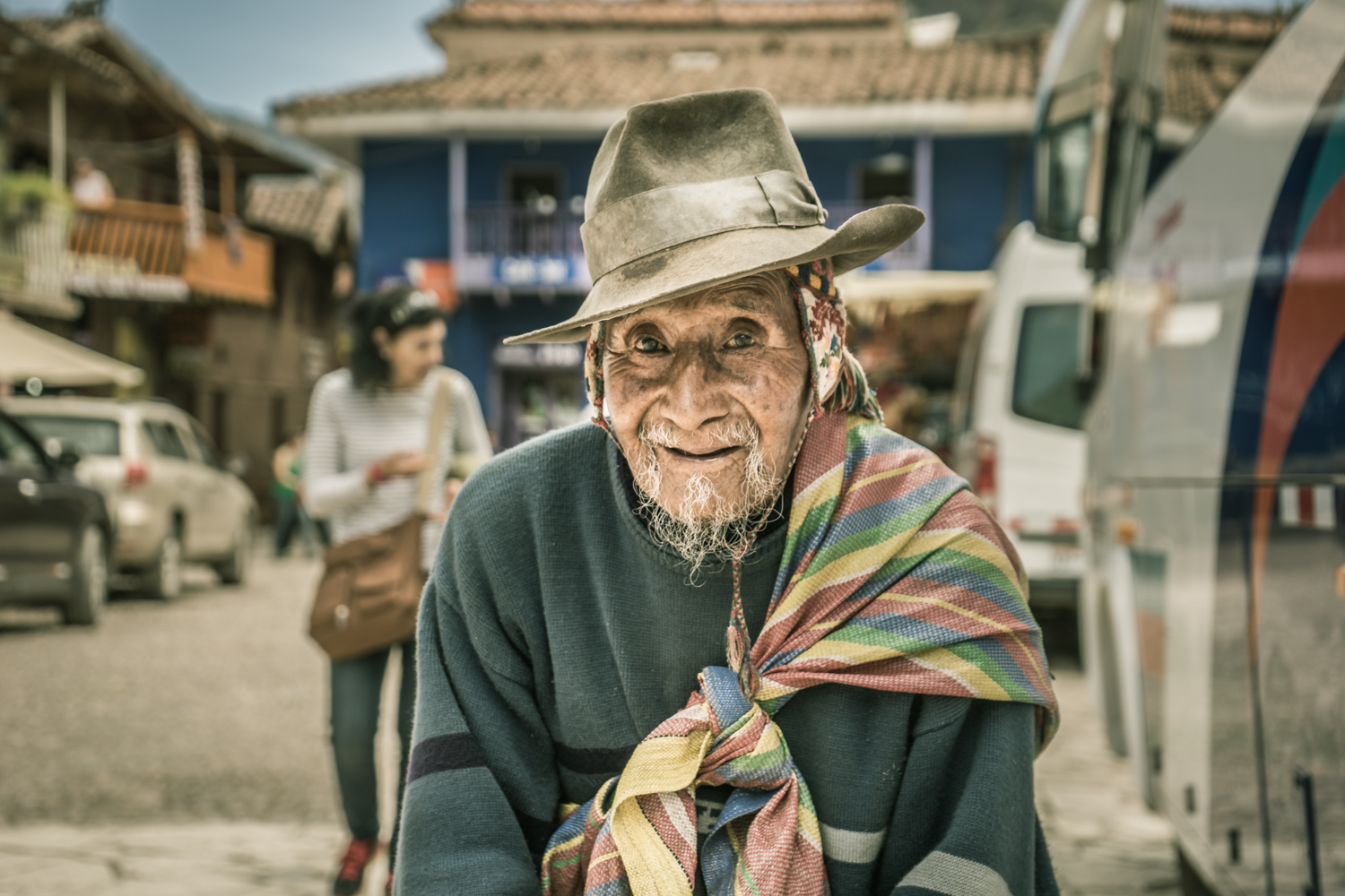 An Old Man from Pisac (Walter Coraza Morveli)
