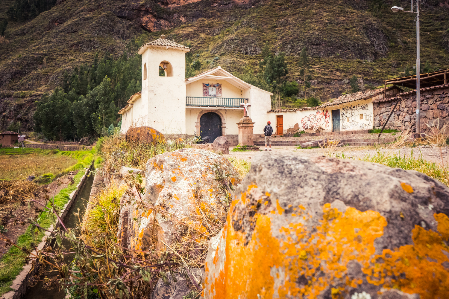 A Church in Pisac (Walter Coraza Morveli)