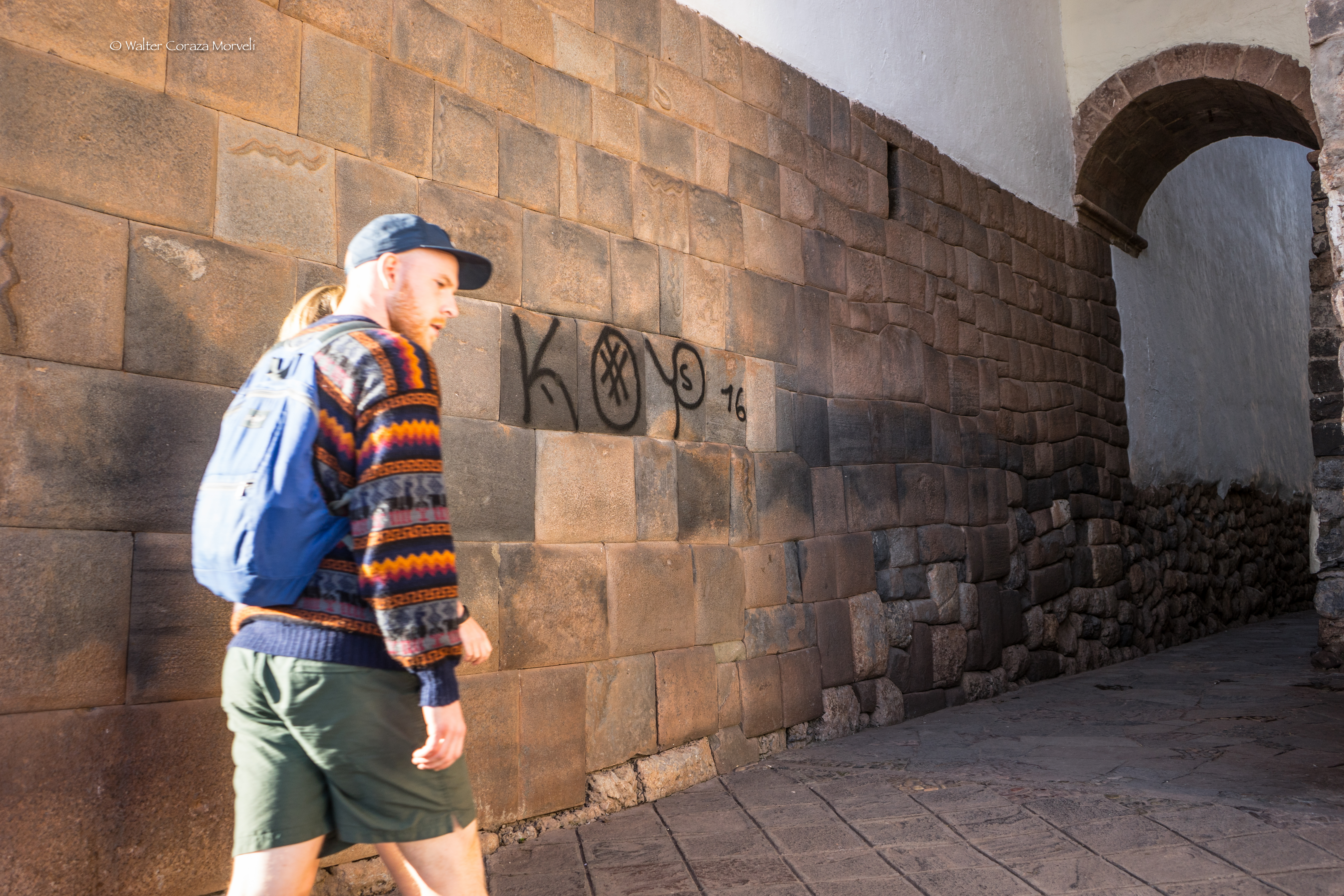 Cusco Suffered an Attack on its cultural Heritage (Walter Coraza Morveli)