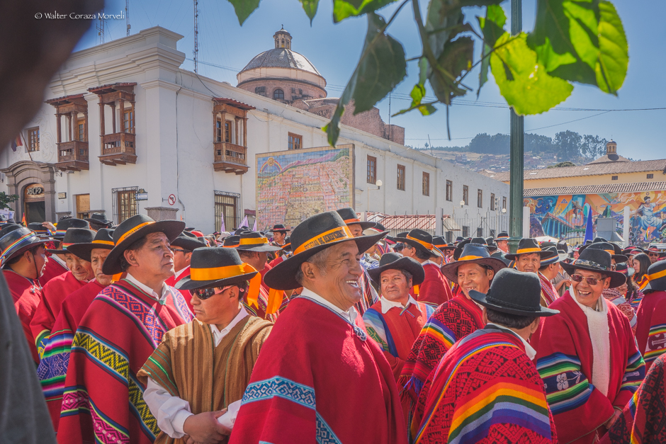 The Parade During the Feast of Cusco