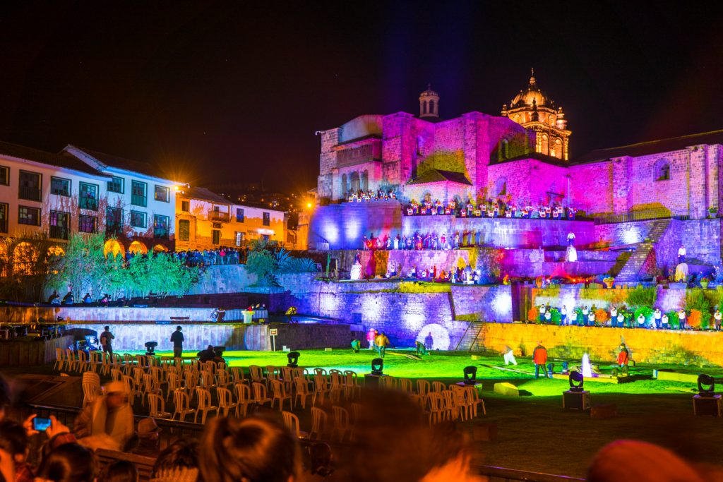 Starting The Fiestas of Cusco in The Temple of Qoricancha (Walter Coraza Morveli)