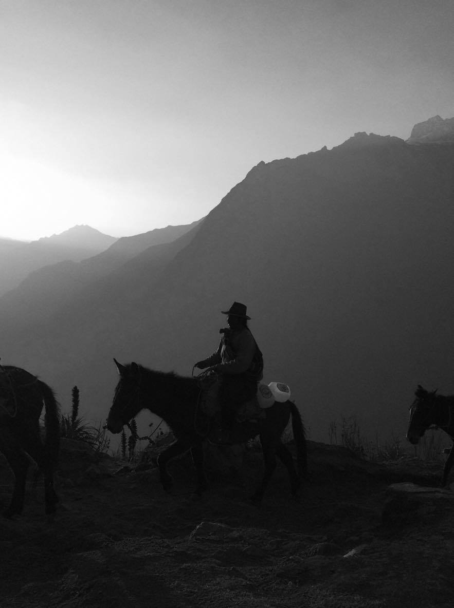Hourse Riding in Choquequirao (Walter Coraza Morveli)