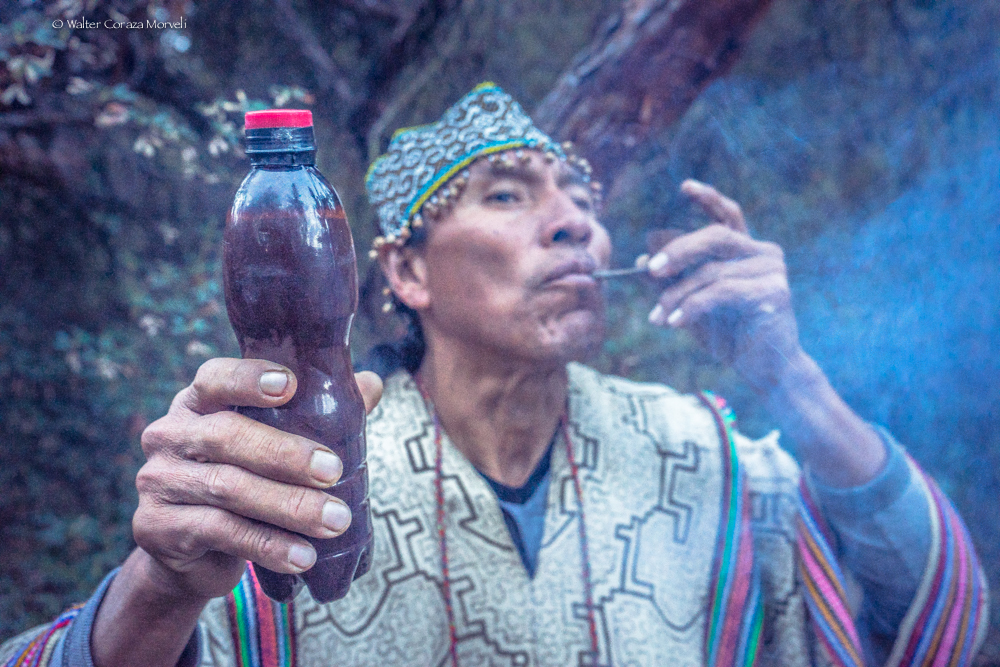 A Shaman from Pucallpa