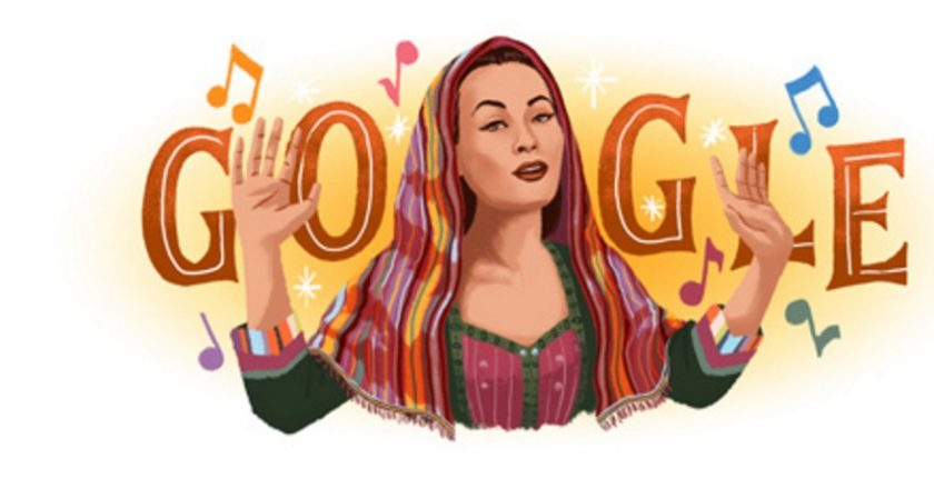 Google Doodle to Honor Yma Sumac
