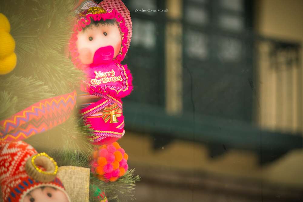 Christmas decoration in Cusco (Walter Coraza Morveli)