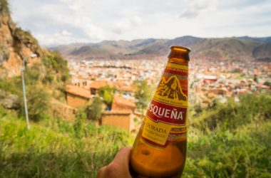 Cusqueña Beer (photo Walter Coraza)